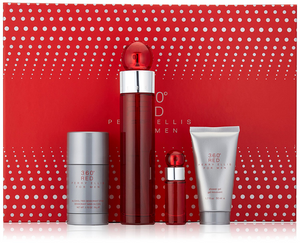 360 Red by Perry Ellis 4-Piece Gift Set for Men