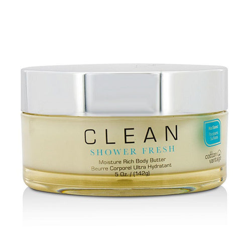 Clean Shower Fresh by Clean 5 oz Moisture Body Butter for Women - GetYourPerfume.com