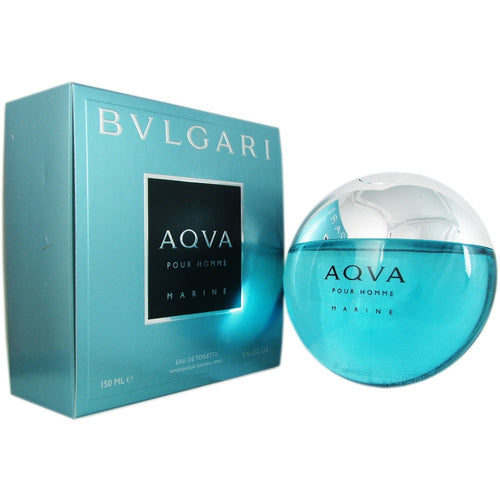 Bvlgari Aqua Marine by Bvlgari 5 oz Eau de Toilette EDT Spray for Men - GetYourPerfume.com