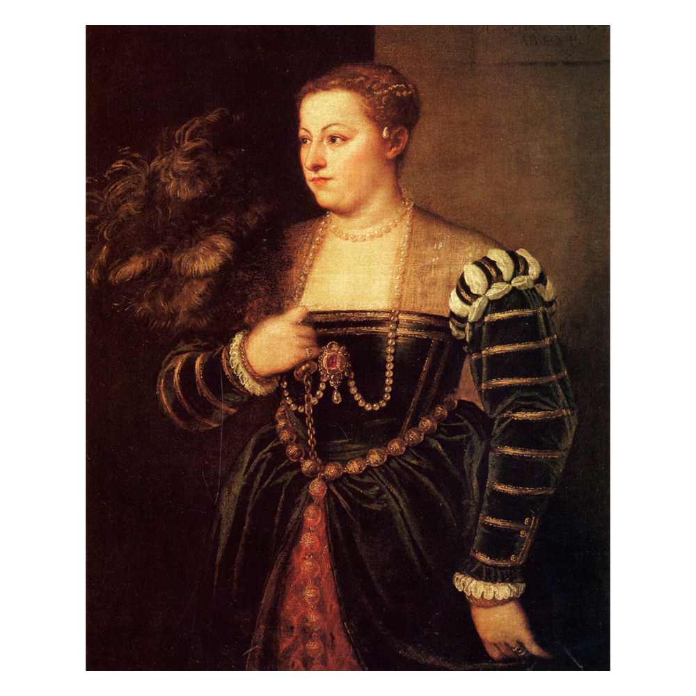 Portrait of Lavinia, His Daughter, Titian