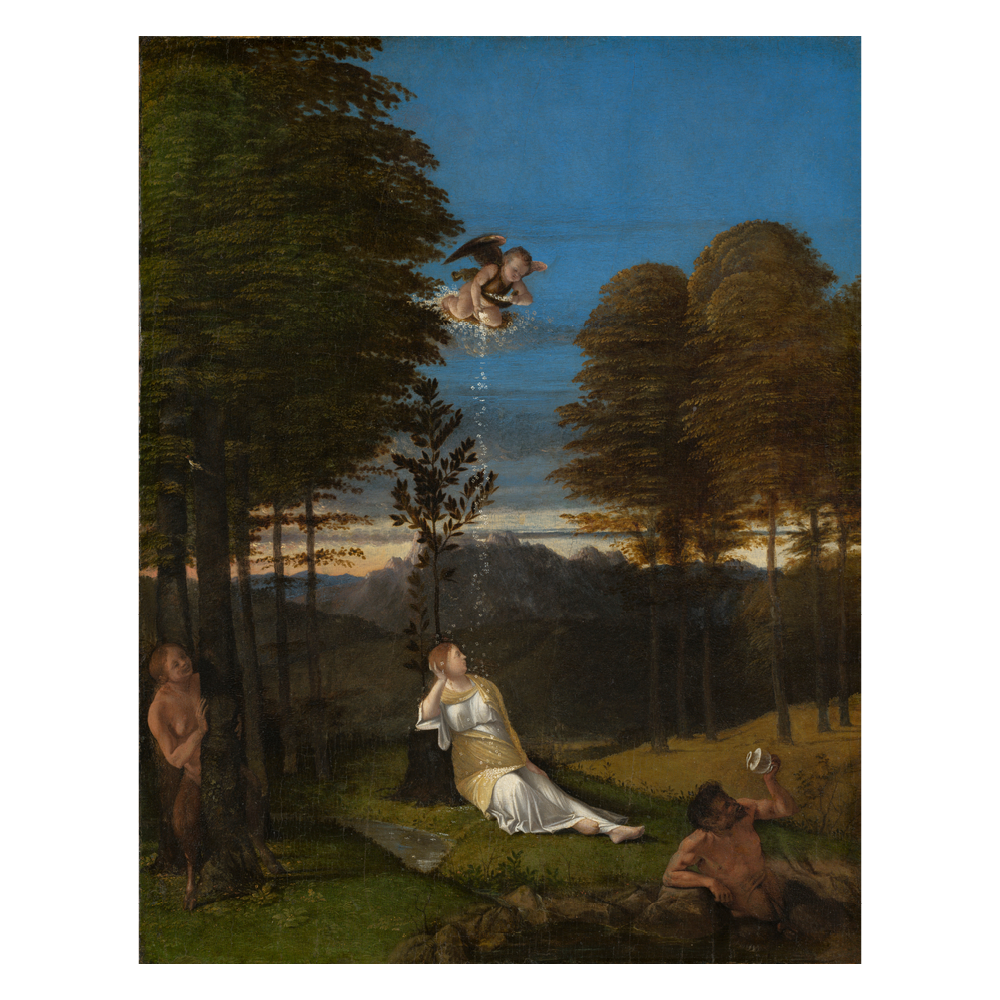 Allegory of Chastity, Lotto