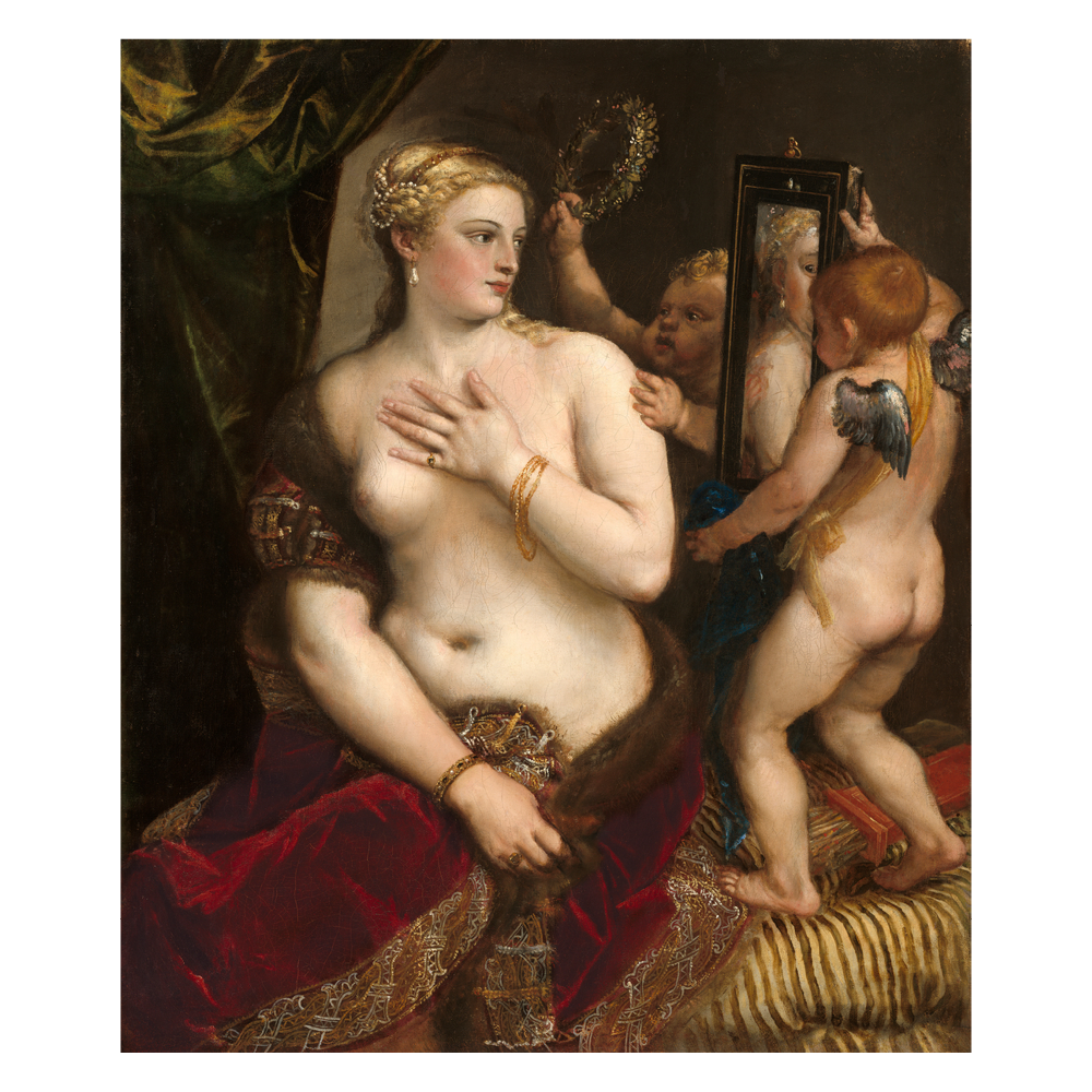 Venus with a Mirror, Titian