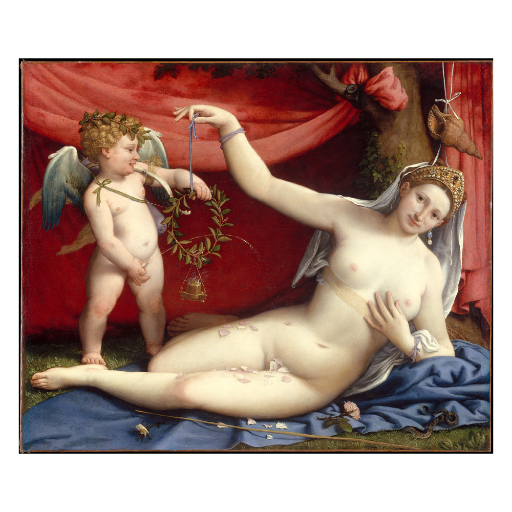 Venus and Cupid, Lotto