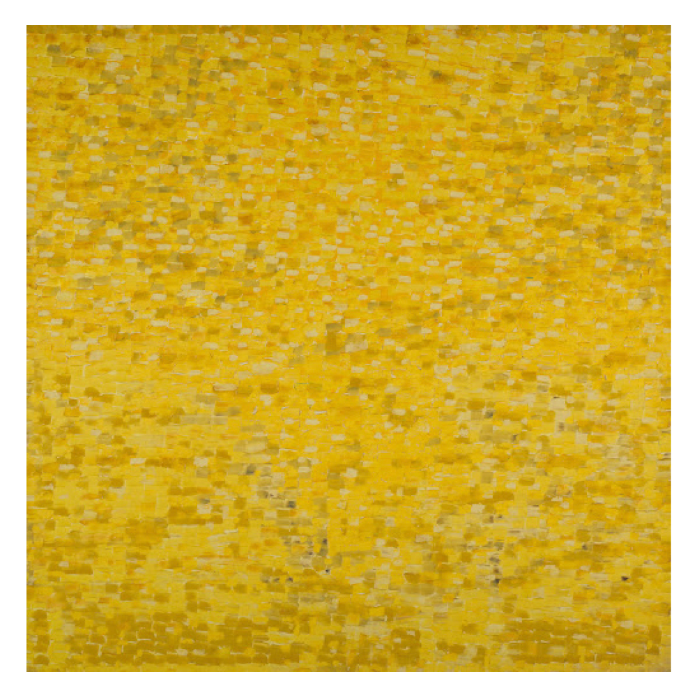 Yellow Painting #7, Shirley Goldfarb