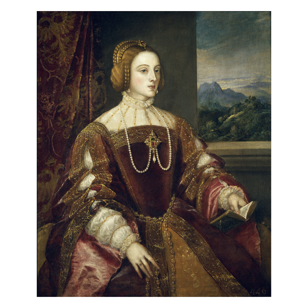 Isabella of Portugal, Titian