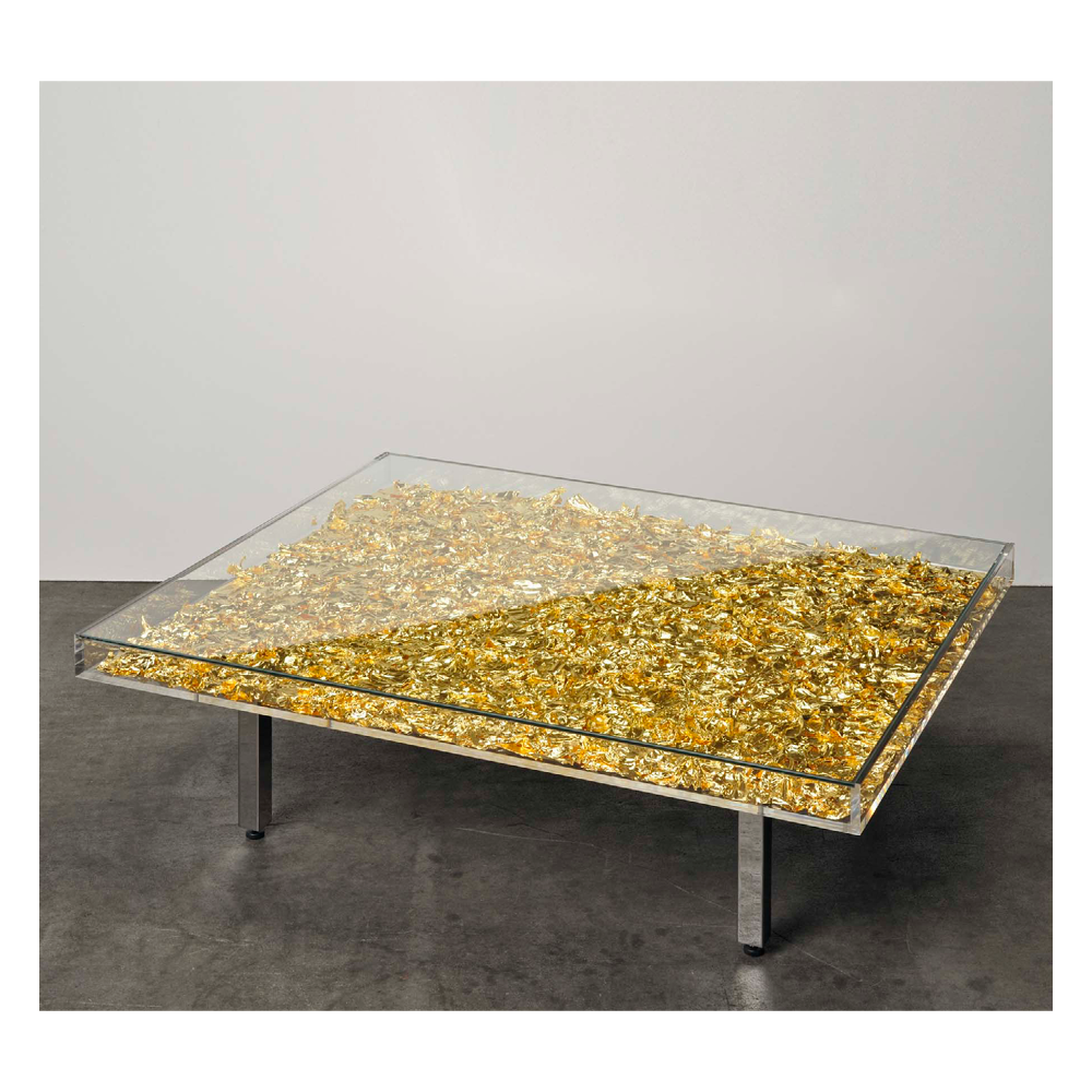 Gold Table, Yves Klein