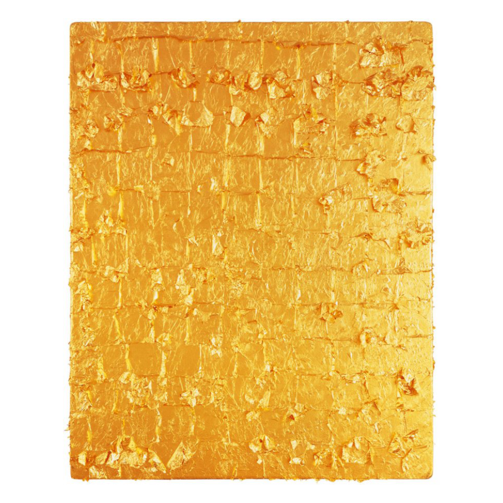 Gold Leaf on Panel, Yves Klein