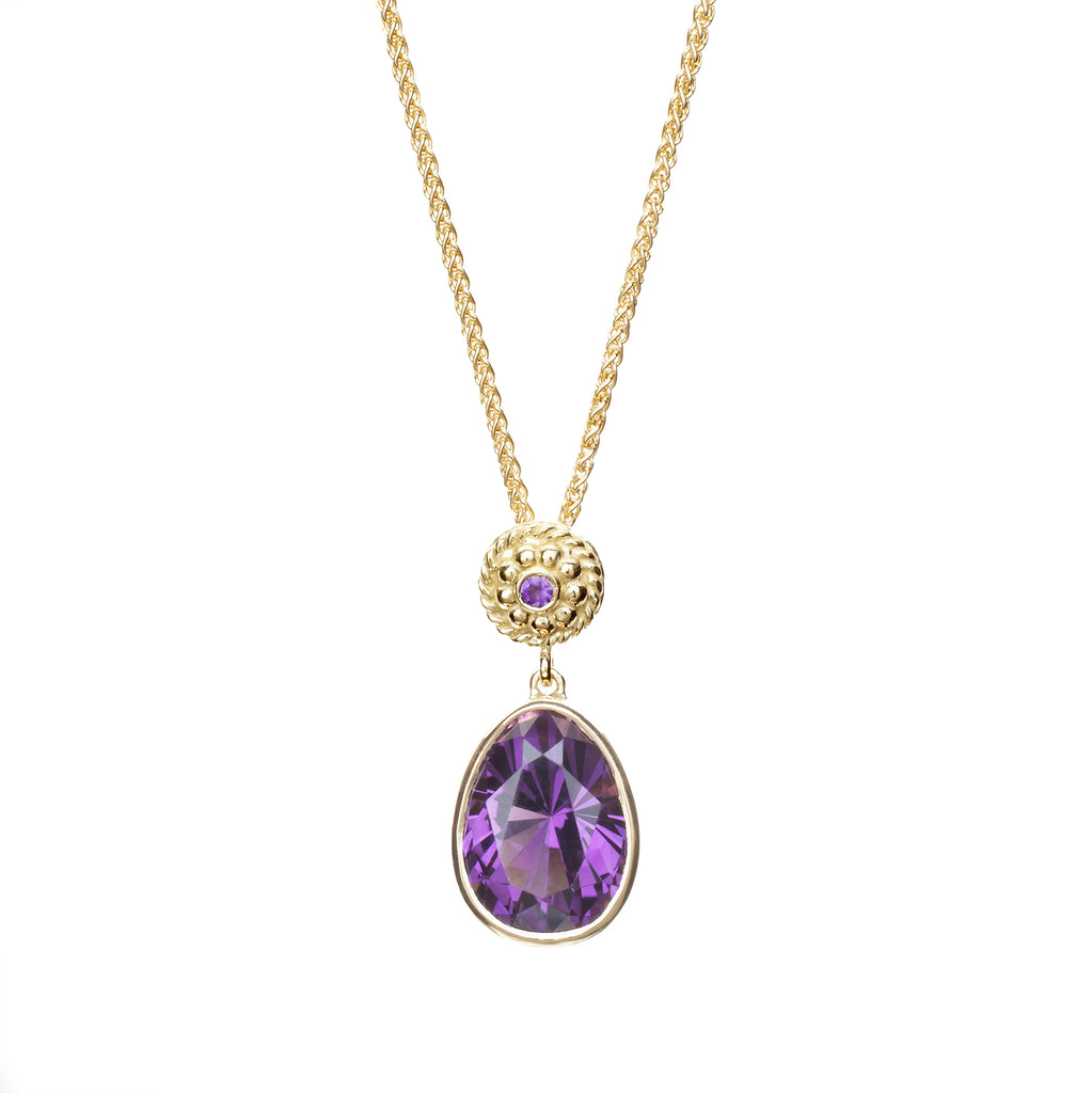 Mine-to-Market Amethyst Necklace