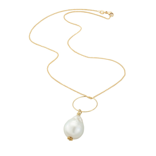 South Sea Pearl Necklace - Pearls Supporting Clean Waters
