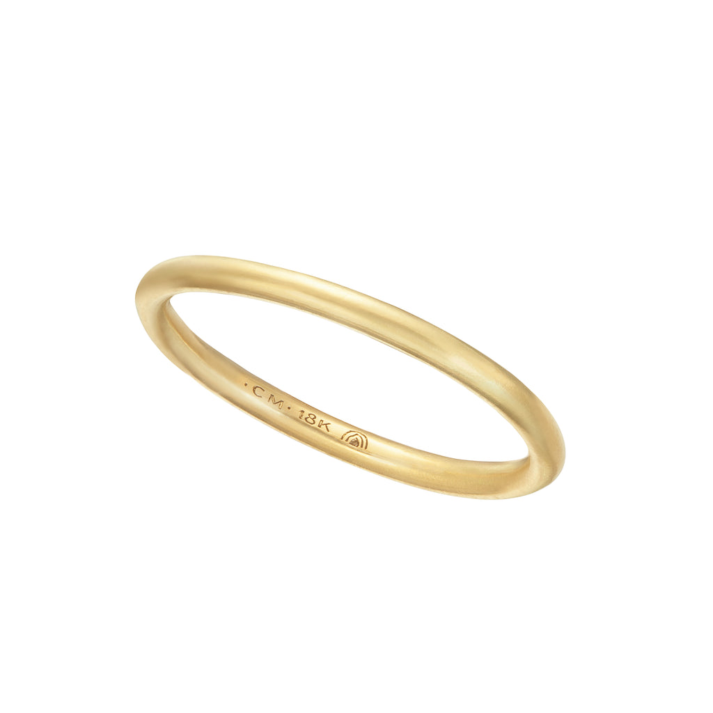 Fairmined Traceable Gold Wedding Band