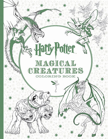 Colouring Book - Harry Potter: Magical Creatures