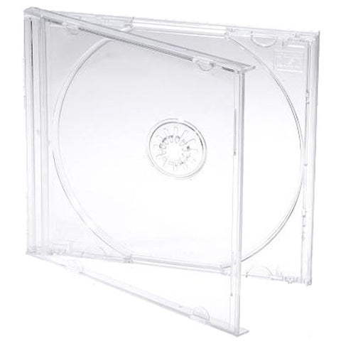 CD Jewel Case Pack - Clear Tray (Single)
