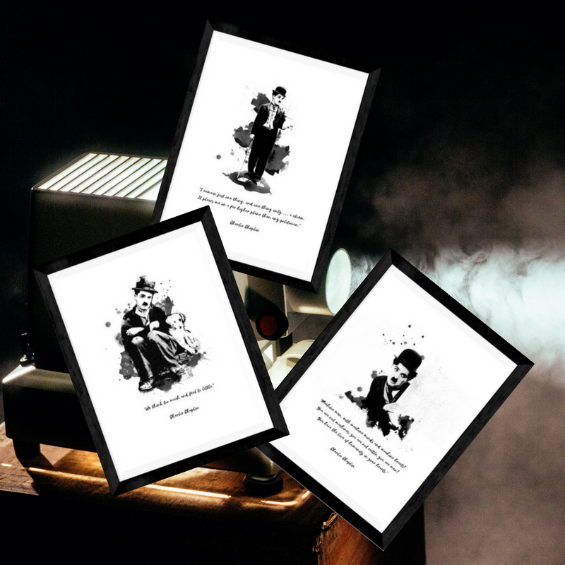 The Charlie Chaplin Range #8 - Bundle With Quotes
