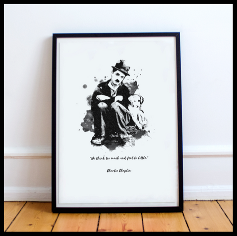 The Charlie Chaplin Range #3 - With Quote