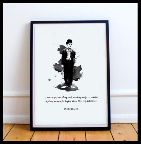 The Charlie Chaplin Range #5 - With Quote