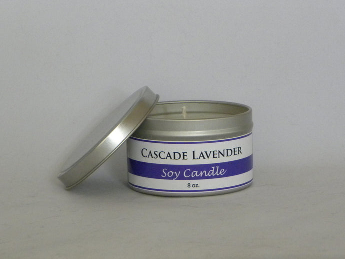 Lavender Chocolate Soy Candle