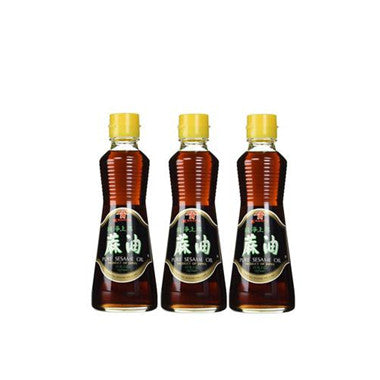 Kadoya Pure Sesame Oil, 11-Ounce Bottle (Pack of 3)