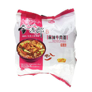 JML Instant Noodle Artificial Spicy Hot Beef Flavor-5 Small Bags