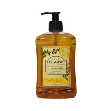 A La Maison Liquid Soap, Honeysuckle, 16.9 Fluid Ounce