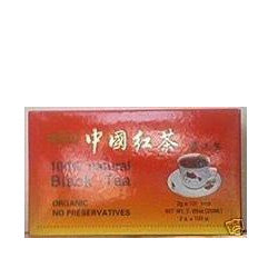 China Organic Black Tea (Natural & Organic) 100 Tea Bags by A2AWorld Green Tea