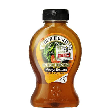 DUTCH GOLD HONEY, HONEY,ORANGE BLOSSOM 16 OZ