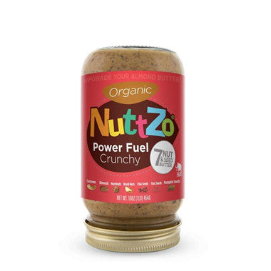 Nuttzo, Organic Peanut Free Omega-3 Seven Nut & Seed Butter, 16 oz (454 g)