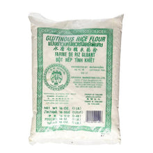 Dried Sweet Glutinous Rice Flour - 2x 1 Lb (Traditional Water Milled)