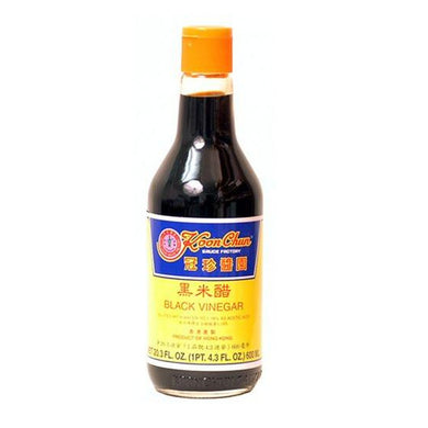Koon Chun Black Vinegar, 20.3-Ounce Bottle (Pack of 2)
