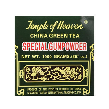 China Green Tea Special Gunpowder 1 Kilo (1000grams or 35.27 Oz) Guaranteed Authenticity