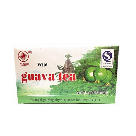Ruquan Wild Guava Tea Natural Source of Nutrition 2g, 20 teabags