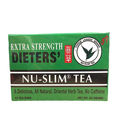 Extra Strength Dieters' Nutra-Slim Tea, 12 Tea Bags