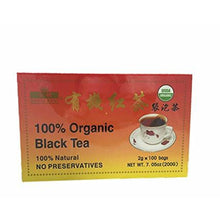 100% Natural Organic Black Tea 100 Teabags USDA Certification