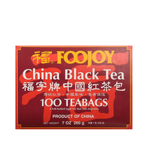 Foojoy China Black Tea - 100 Tea Bags