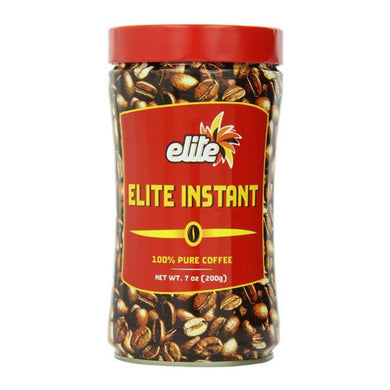 Elite Instant Coffee, 7 oz