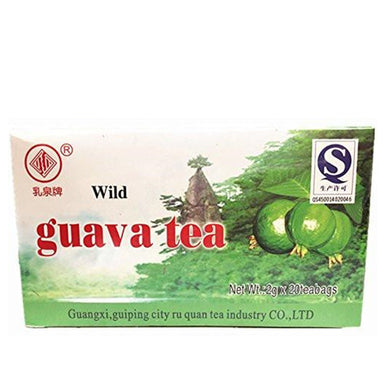 Wild Guava Tea Natural Source of Nutrition 2g, 20 teabags