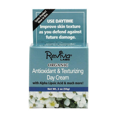 Reviva Labs Organic Day Cream Antioxidant and Texturizing -- 2 oz