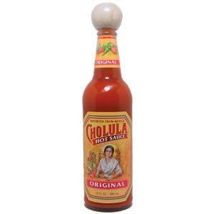 CHOLULA Original Mexican Hot Sauce with Wooden Stopper Top - 12 Oz (2-Pack)