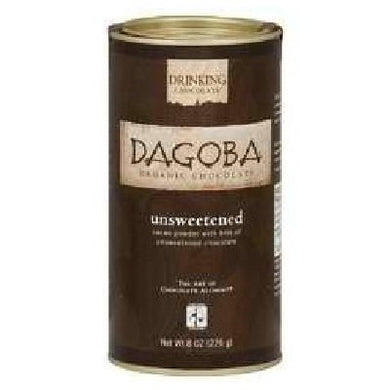 Dagoba Organic Chocolate - Hot Drinking Chocolate Unsweetened - 8 oz