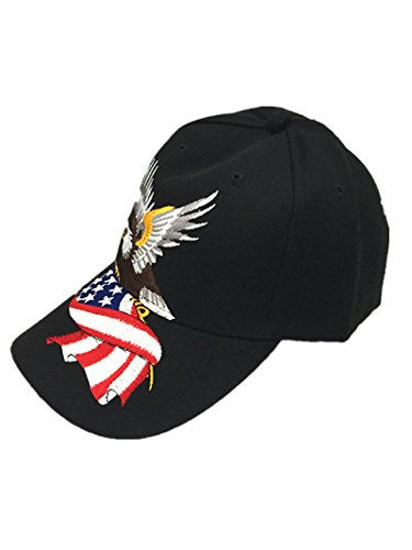 American Eagle Embroidery Snapback Hat Sports Team Baseball Adjustable Caps