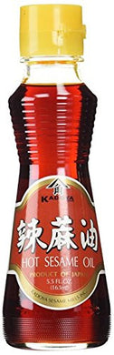 Kadoya Hot Sesame Oil, 5.5 Ounce (Pack of 3)