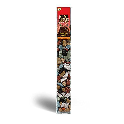 Choco Rocks - 3 Oz Tube (1) by Kimmie Candy Company