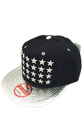 Star Embroidery Snapback Hats Sports Team Baseball Adjustable Size Caps