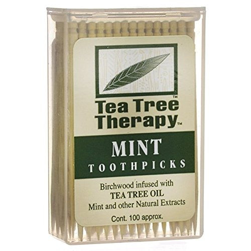Tea Tree Therapy - Tea Tree & Menthol Toothpicks