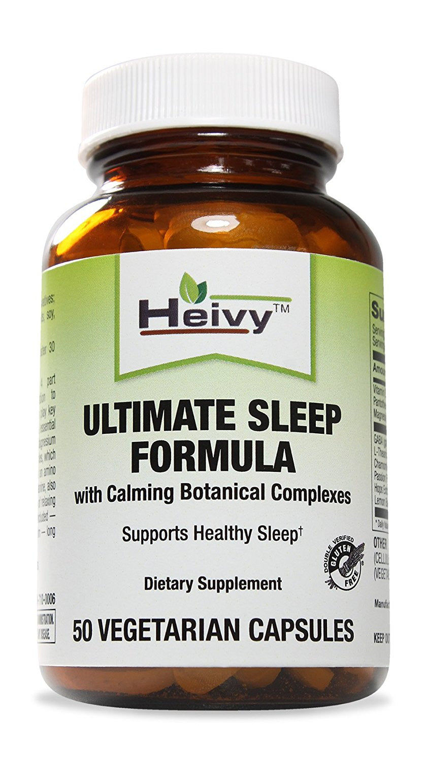 Ultimate Sleep Formula with Calming Botanical Complexes, 50 Veg Caps
