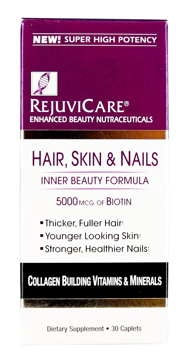 RejuviCare Hair, Skin & Nails Formula Caplets 30 each
