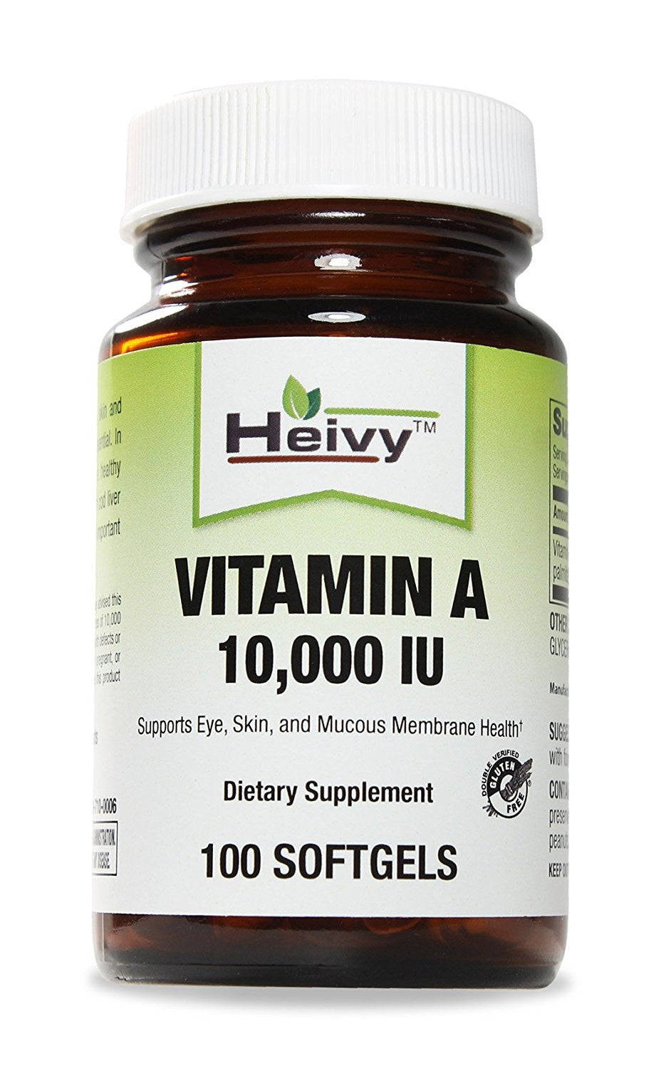 Vitamin A 10,000 IU, 100 Softgels