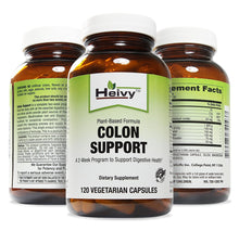 Plant-Based Formula Colon Support, A Complete 2-Week Program to Support Digestive Health, 120 Veg Caps