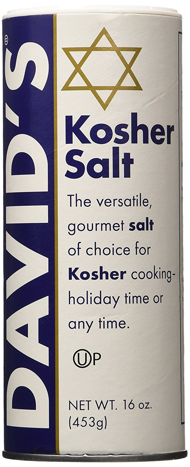 David's Kosher Kosher Salt-tube