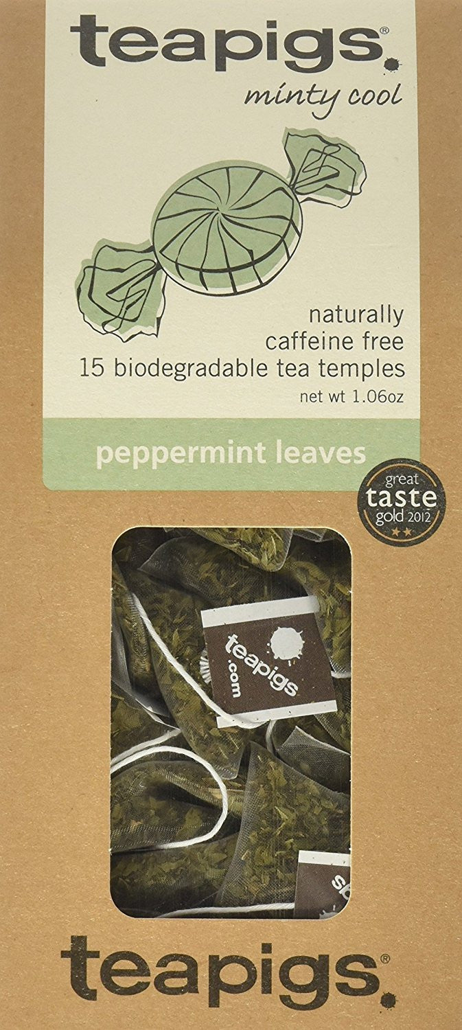 teapigs Peppermint Leaves Tea, 1.06 Ounce