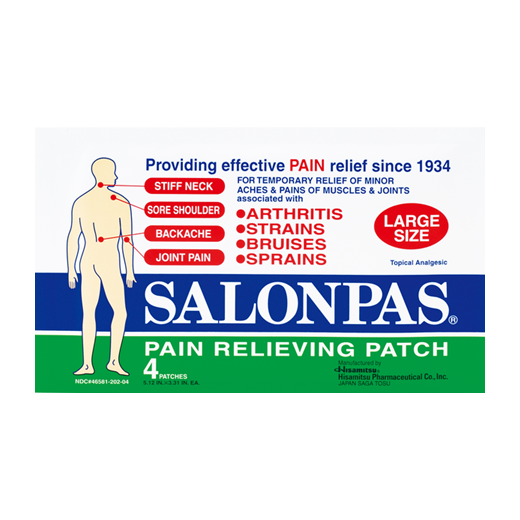 SALONPAS Large Pain Relief Patches